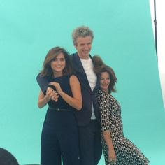 Jenna Coleman, Michelle Gomez, Peter Capaldi