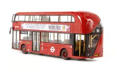 New Routemaster, New Bus, Mamma Mia, West End, Scale Models, Victoria, London, Scale Model, London England