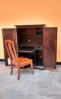 Amish Mt. Eaton Computer Armoire Desk | Computer Armoire, Armoires And Desks