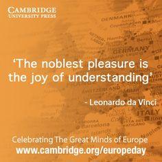 Leonardo da Vinci quote #EuropeDay