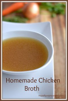 Leftover chicken no longer gets thrown away.  Simmer it along with some carrots, celery, onion, parsley, peppercorns and what you're left with is amazing broth that you control the ingredients and salt content.  Freezes well if it lasts that long.