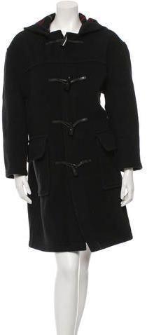 Burberry Hooded Wool Coat Hooded Wool Coat, Hoods, Burberry, Stylish, Women, Cowls, Cooker Hoods, Women's