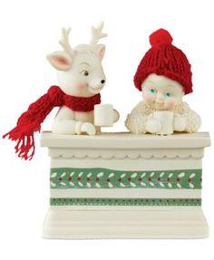 Department 56 Coffee Talk Snowbabies Collectible Figurine