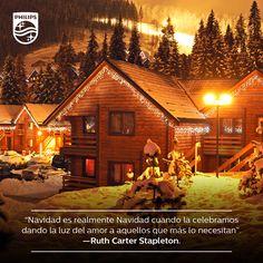 La verdadera luz de Navidad está en nuestros corazones.
