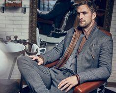 Look 8 - Barber Shop - Men - AW 15/16 - España (Excepto Canarias)/Spain (except the Canary Islands)