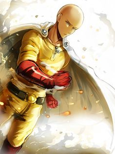 My drawing of Saitama from the anime One Punch Man ! One Punch Man - Saitama Saitama One Punch Man, One Punch Man Anime, One Punch Man Memes, One Punch Man Funny, 5 Anime, Anime Comics, Anime Guys, Anime Art, Dc Comics