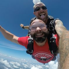 Bringing the beards to the sky!