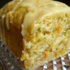Orange Zucchini Bread- looks healthy and delicious!