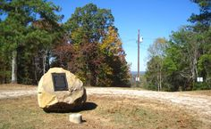 806 feet, imagine that?  That's the highest point in Mississippi on Woodall Mountain.