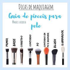 Discover more about makeup, hair and nails Perfect Makeup, Gorgeous Makeup, Skin Makeup, Makeup Brushes, How To Make Hair, Make Up, Glamour Makeup, Make Tattoo, Makeup Step By Step