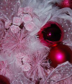 Gracie's Tree 2011. Pink Princess Christmas Tree.