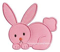 Bunny 11 Applique Design