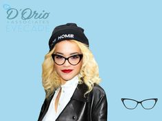 If you guessed cat eye you were right! #celebrityguess #guessinggame #drdorio #ritaora #fashioneyewear