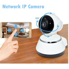 Cheap wireless ip camera, Buy Quality ip camera surveillance directly from China ip camera Suppliers: 720P HD  Mega wireless ip camera surveillance video recorder  wifi pt audio support sd card for home  Onvif cctv  P2P Alarm