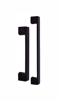 Nidus SQ-1 Cabinet pulls matte black