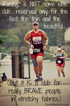 I don't Repin many running quotes, but this one is spot on. Just get out there!