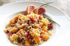 Quinoa Salad with Blood Orange Dressing