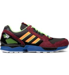 362cb2fd12b78 Adidas Originals - Dark Brown Zest Macaw ZX 9000 25 Anniversary Shoe