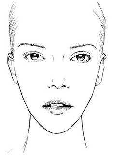 Cara ovalada/alargada