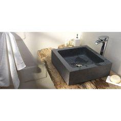 Vasque stone poser lapeyre vasque et robinet pinterest pierres - Vasque a poser lapeyre ...