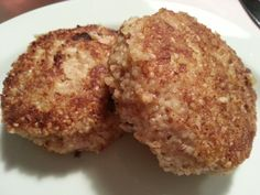 Breaded minced chickenmeat paddies