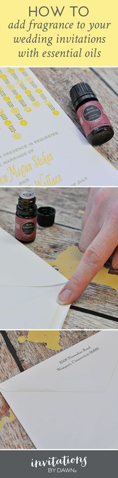 Such a genius wedding invite hack idea. #weddingdiy #gardenwedding