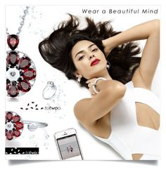 """TOTWOO JEWELRY & TOTWOO APP"" by tjuli-interior ❤ liked on Polyvore featuring totwoo, totwooglobal and smarttech"