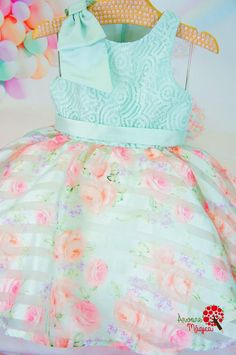 Vestido de Festa Infantil Ariel Petit Cherie Blush Flower Girl Dresses, Little Girl Dresses, Frocks For Girls, Kids Frocks, Boys And Girls Clothes, Cute Baby Clothes, Fashion Kids, Mom Daughter Matching Outfits, Kids Ethnic Wear