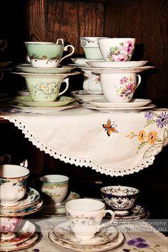 Gallery of Fancy Tea's Vintage Crockery Collection