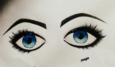 Ma fav blu eyes....❤