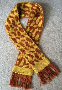 Pdf Patterns, Knitting Patterns, Braided Scarf, Mittens Pattern, Yarn Projects, Double Knitting, Slip Stitch, Giraffe, Knitted Hats