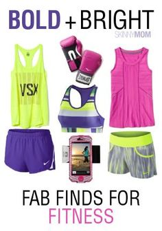 Wonderul, affordable finds to get you MOTIVATED to work out. Embrace the neon, ladies ;)