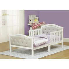 Found it at Wayfair - The Orbelle Convertible Toddler Bed