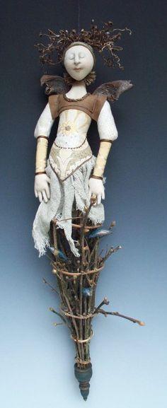 """Nesting Intelligence II"" by doll artist Akira Blount"