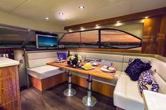 Riviera 43 Open Flybridge with IPS   Saloon