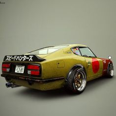 ArtStation - The Fairlady , Graeme Palmer Best Jdm Cars, Datsun 240z, Game Engine, Drifting Cars, Wheels, Lady, Vehicles, Motorbikes, Game Motor