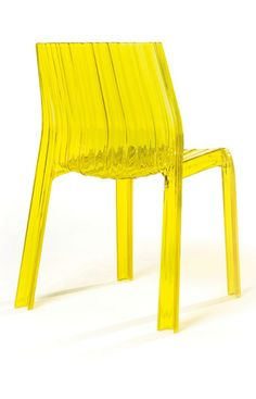 Juice up a front hall, den or terrace with this lemon-yellow chair