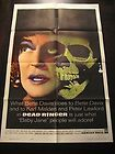 DEAD RINGER ORIGINAL VINTAGE HORROR MOVIE POSTER BETTE DAVIS KARL MALDEN 1964 - 1964, BETTE, DAVIS, Dead, HORROR, KARL, MALDEN, Movie, ORIGINAL, Poster, RINGER, Vintage