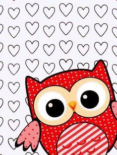 *✿**✿*BUHOS*✿**✿* Owl Wallpaper, Pretty Phone Wallpaper, Animal Wallpaper, Iphone Wallpaper, Owl Clip Art, Owl Art, Owl Background, Star Painting, Owl Illustration