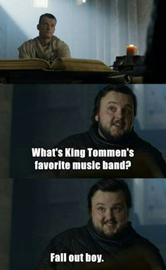 Game of Thrones You are in the right place about Silly Jokes Here we offer you the most beautiful pictures about the Silly Jokes you are looking for. When you examine the Game of Thrones part of the p Game Of Thrones Jokes, Got Game Of Thrones, Silly Jokes, Funny Jokes, Hilarious, Fandom Games, Got Memes, Jokes In Hindi, Series Movies