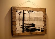 Custom Antique Picture on Reclaimed Pallet by anesihouse on Etsy, $175.00