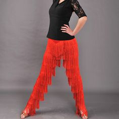 Aliexpress.com : Buy Latin dance clothes training pants multi layer fringe pants slim waist fashion 152 pants S_XL from Reliable clothes drier suppliers on sunny  day store  | Alibaba Group