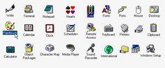 Windows 3.11 Icons