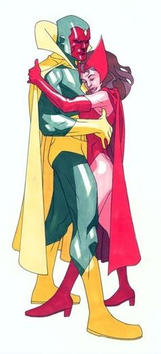 Rob Haynes - The Vision & the Scarlet Witch