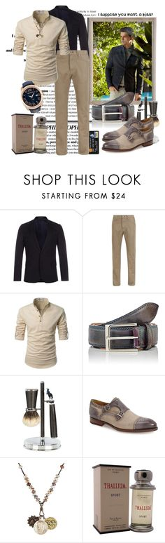 """""""i supposed you want a kiss?"""" by sasane ❤ liked on Polyvore featuring Massimo Dutti, Paul Smith, Blue Harbour, Harris, Cedes, Magnanni, Miracle Icons, Jacques Evard, Orefici Watches and men's fashion"""
