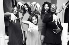 The Murphy girls pose with dad Eddie Murphy in a recent family shoot. Click over to see more photos of the Murphy children. Eddie and his ex-wife Nicole Murphy have five kids together: Bria, Myles, Shayne , Zola, and Bella. Mr. Murphy's older sons, Christian and Eric, are from a previous relationship.