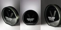 Bespoke glass awards for Exklusiv Prize 2012