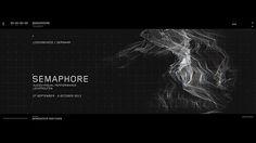 Semaphore - Teaser / AV Performance at LichtRouten. #sci-fi #mograph