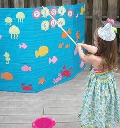 Little Mermaid Birthday Party Games ,Little Mermaid Birthday Party Ideas Kids Carnival, Carnival Birthday Parties, 3rd Birthday, Birthday Ideas, Fall Carnival, Carnival Ideas, Turtle Birthday, Turtle Party, Toddler Birthday Party Games