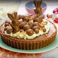 Chocolate Tart Salted Caramel Food Ideas For 2019 Tart Recipes, Sweet Recipes, Baking Recipes, Dessert Recipes, Salted Caramel Tart, Salted Caramels, Impressive Desserts, Easter Treats, Easter Recipes